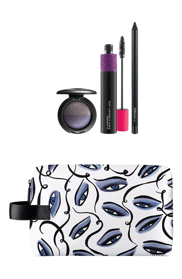 Alternate Image 1 Selected - M·A·C 'Illustrated' Eye Bag (Sultry) (Nordstrom Exclusive) ($93 Value)