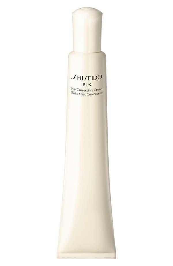Alternate Image 1 Selected - Shiseido 'Ibuki' Eye Correcting Cream
