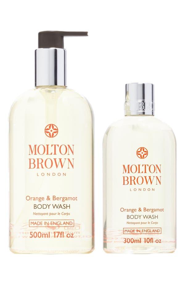 Alternate Image 1 Selected - MOLTON BROWN London 'Orange & Bergamot' Body Wash Duo ($80 Value)