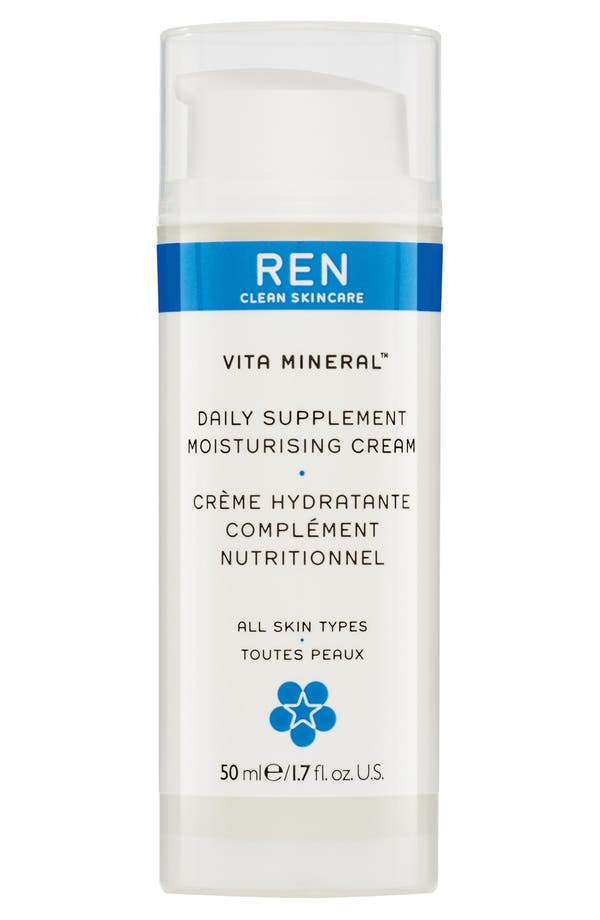 Alternate Image 1 Selected - REN 'Vita Mineral™' Daily Supplement Moisturizing Cream