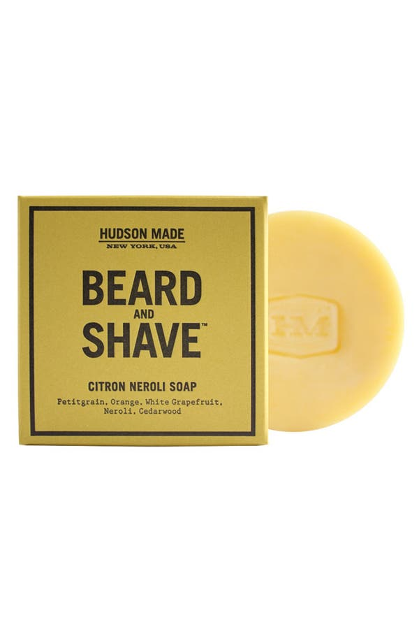 HUDSON MADE Beard and Shave™ Soap