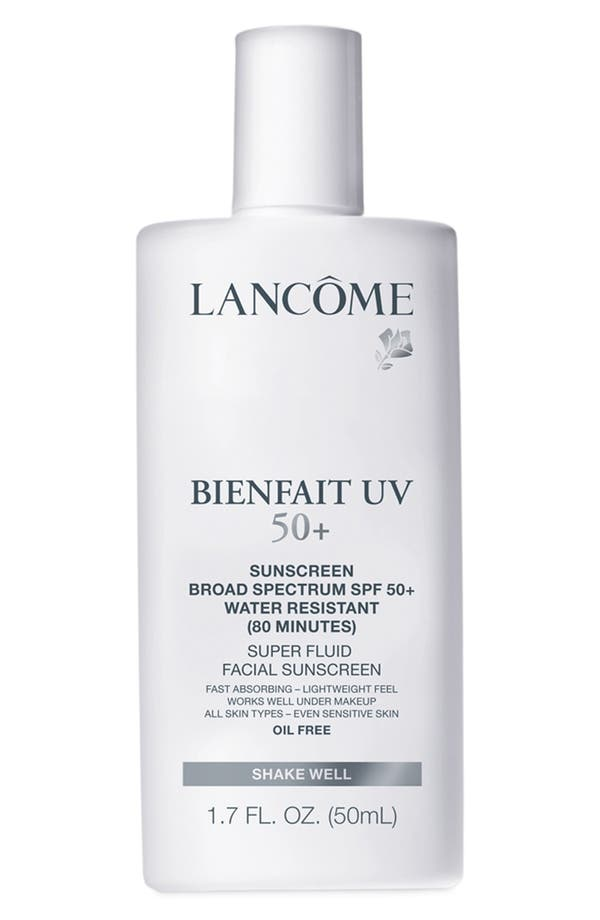 Main Image - Lancôme Bienfait UV Super Fluid Facial Sunscreen SPF 50+