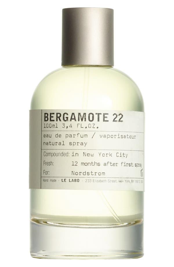 Alternate Image 1 Selected - Le Labo 'Bergamote 22' Eau de Parfum