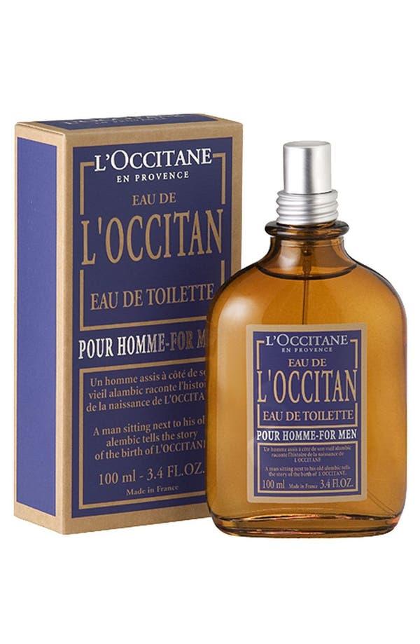 Alternate Image 1 Selected - L'Occitane 'Pour Homme - L'Occitan' Eau de Toilette