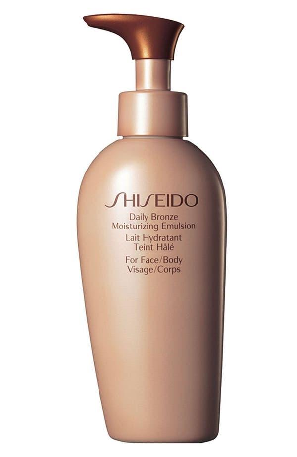 Main Image - Shiseido 'Daily Bronze' Moisturizing Emulsion