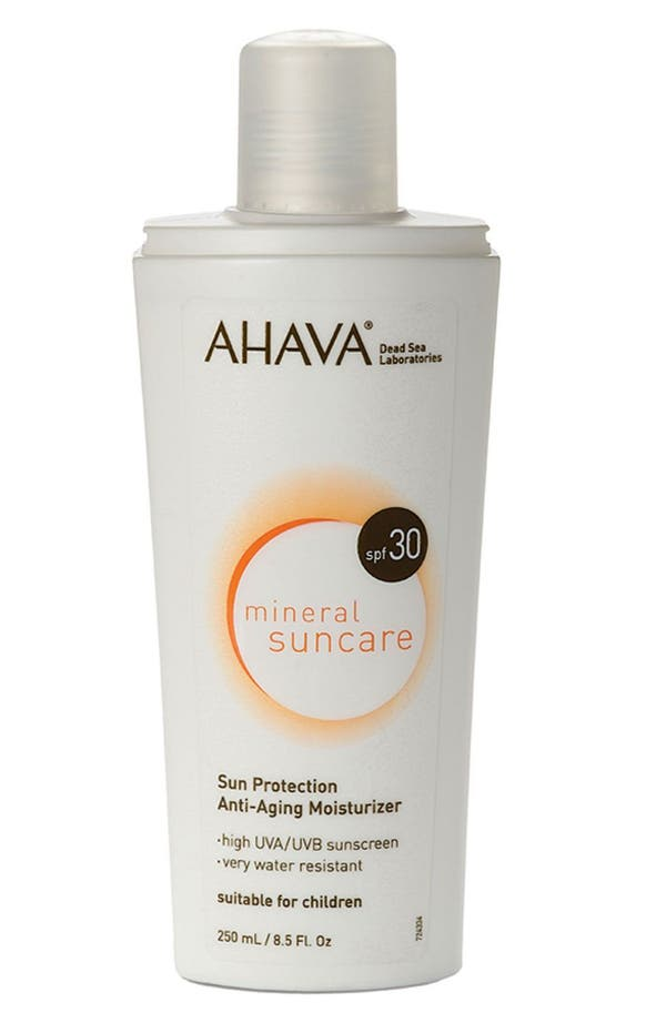 Alternate Image 1 Selected - AHAVA 'Mineral Suncare' Sun Protection Anti-Aging Moisturizer SPF 30