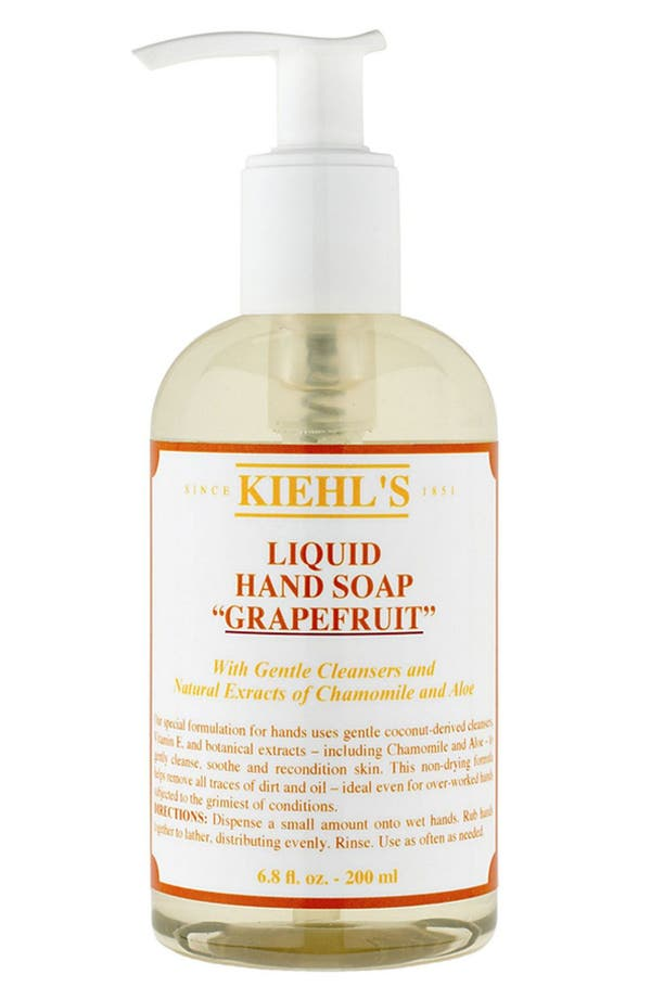 Alternate Image 1 Selected - Kiehl's Since 1851 Liquid Hand Soap (Grapefruit)