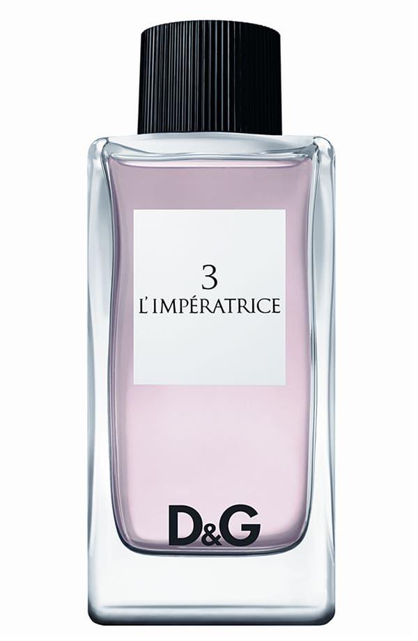 Alternate Image 1 Selected - D&G '3 L'Impératrice' Eau de Toilette