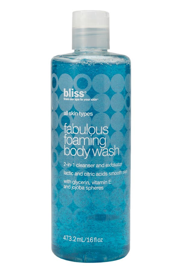 Alternate Image 1 Selected - bliss® 'Fabulous' Foaming Body Wash