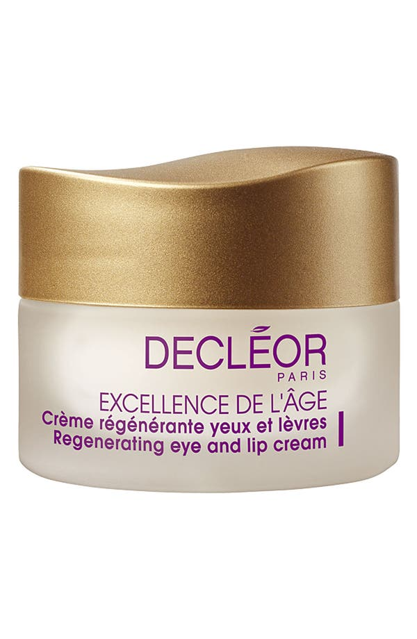 Main Image - Decléor 'Excellence de L'Âge' Regenerating Eye & Lip Cream