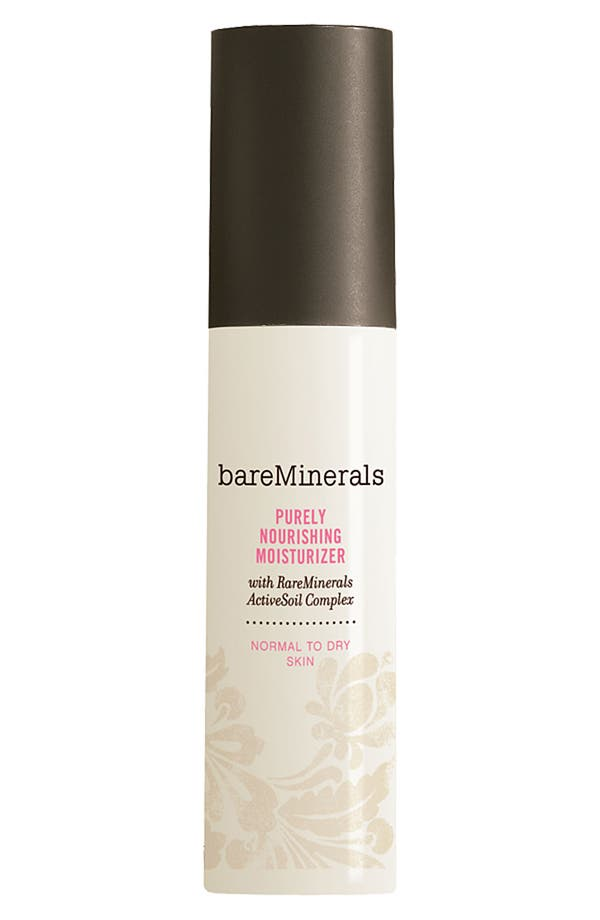 Alternate Image 1 Selected - bareMinerals® Purely Nourishing Moisturizer for Normal to Dry Skin