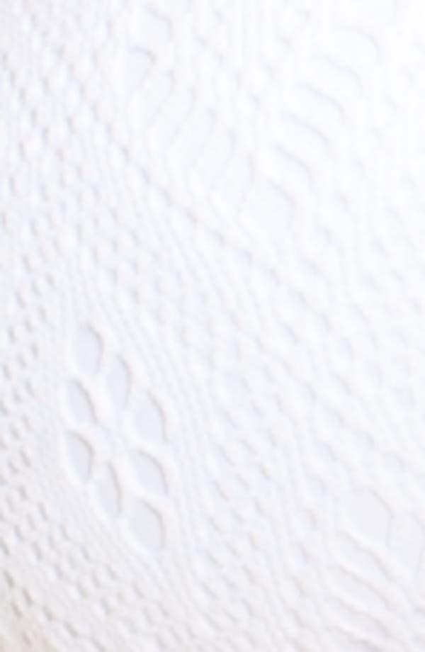 Alternate Image 3  - Becca Crochet Triangle Bikini Top