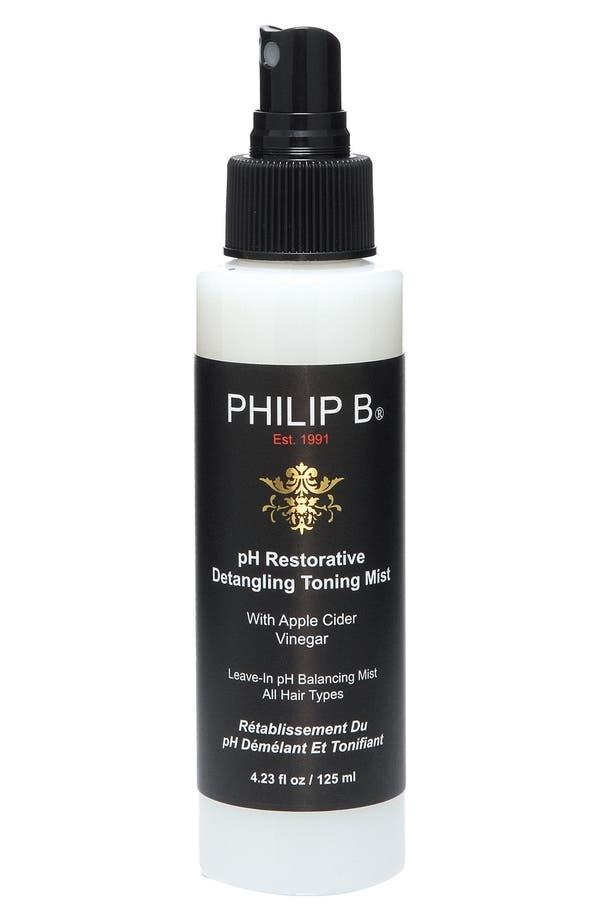 Alternate Image 1 Selected - SPACE.NK.apothecary PHILIP B® pH Restorative Detangling Toning Mist