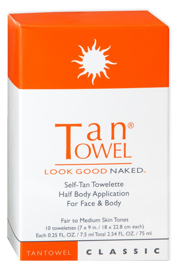 Alternate Image 2  - TanTowel® Half Body Application - Classic (10-Pack)