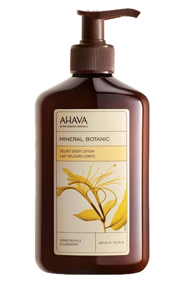 Main Image - AHAVA 'Mineral Botanic Honeysuckle & Lavender' Body Lotion