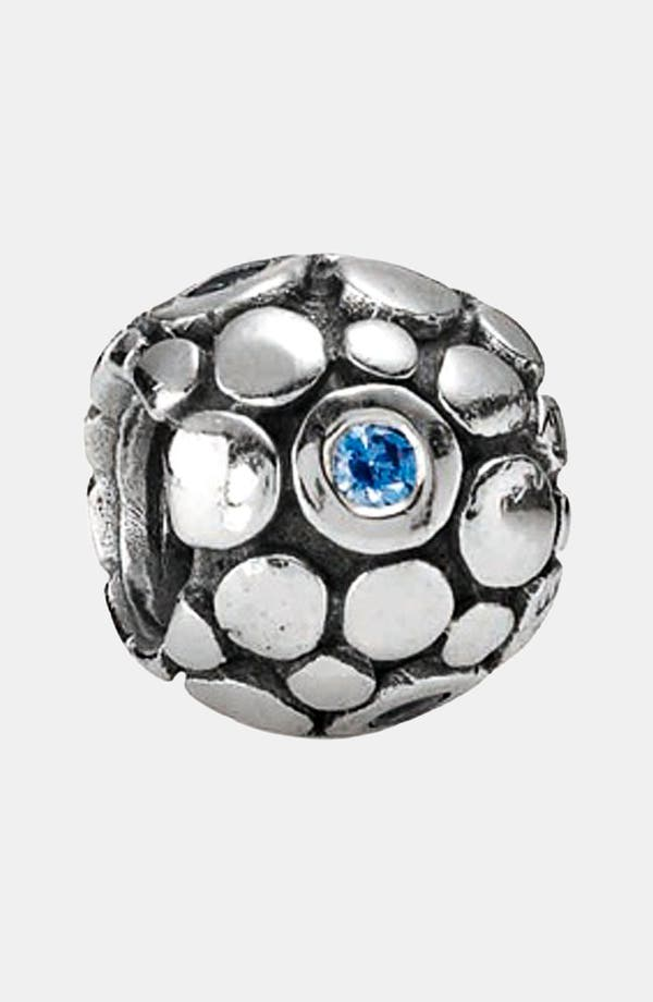 Alternate Image 1 Selected - PANDORA 'Blue Bubble' Charm