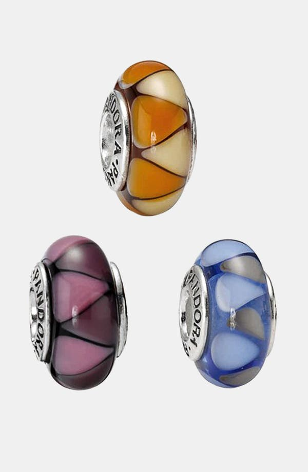 Alternate Image 1 Selected - PANDORA 'Captivating' Murano Glass Charm