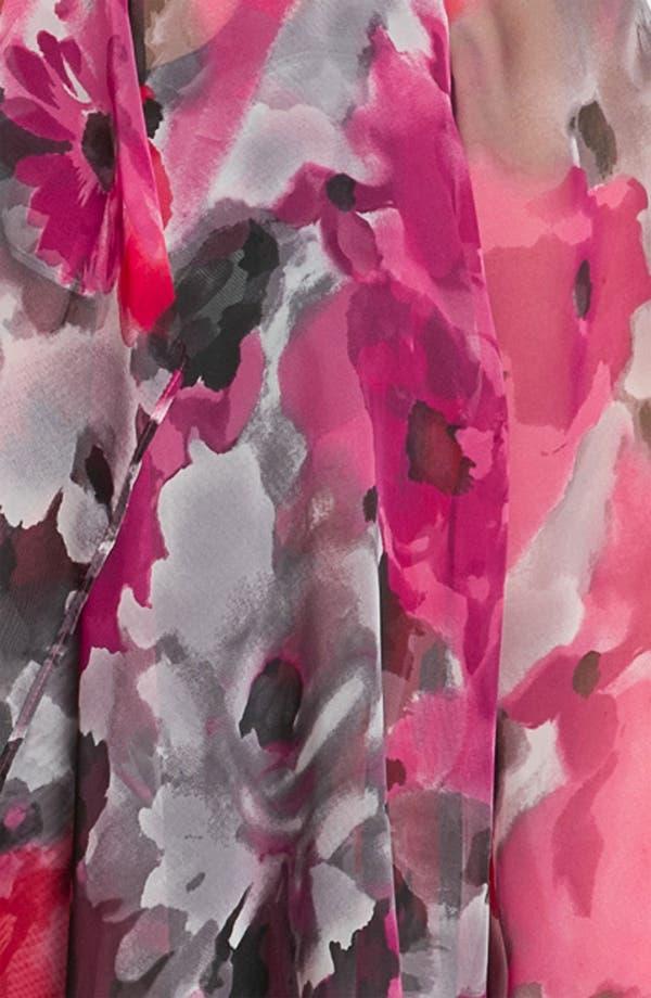 Alternate Image 3  - Alex Evenings Floral Print Twinset (Plus)