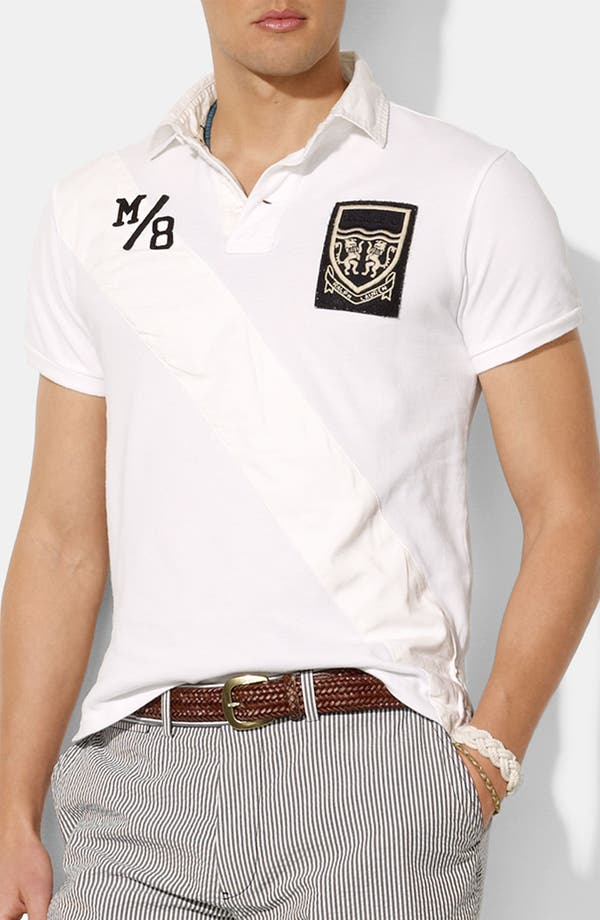 Main Image - Polo Ralph Lauren Custom Fit Mesh Polo