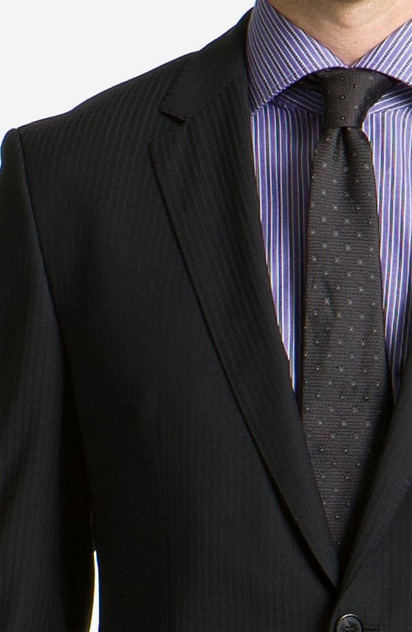 Alternate Image 5  - BOSS Black 'James/Sharp' Trim Fit Stripe Suit