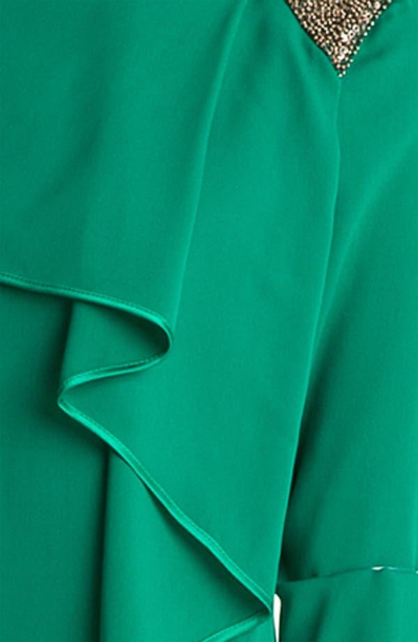 Alternate Image 3  - Robert Rodriguez Embellished Cascade Ruffle Dress