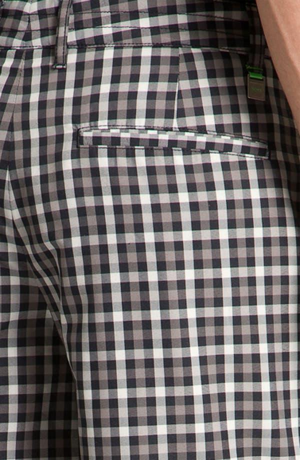Alternate Image 3  - BOSS Green 'Hitch' Plaid Golf Shorts