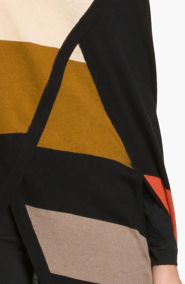 Alternate Image 2  - Halogen® Colorblock Cape