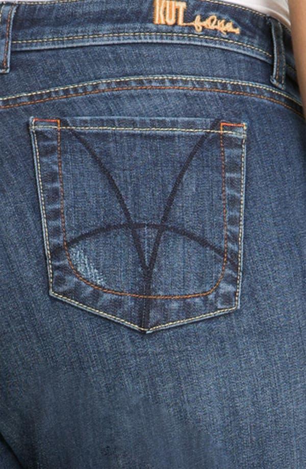 Alternate Image 3  - KUT from the Kloth Slim Boyfriend Jeans (Plus)