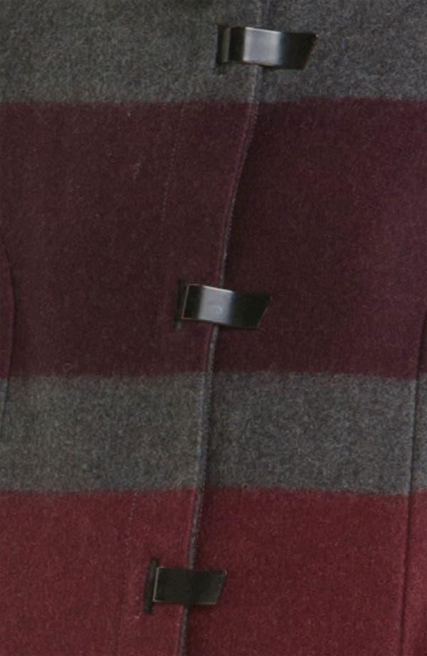 Alternate Image 3  - rag & bone 'Rochelle' Stripe Wool Blend Coat