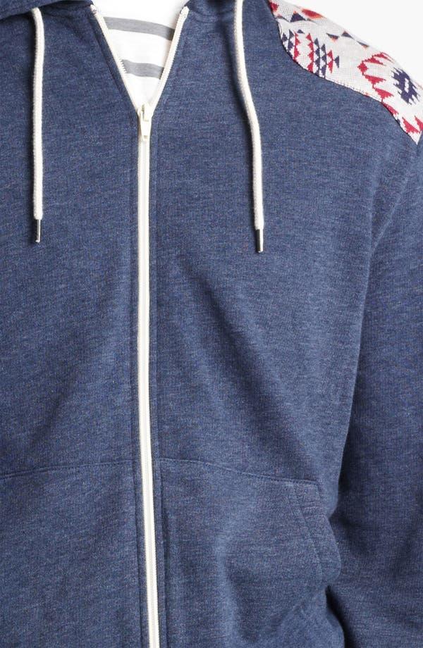 Alternate Image 3  - Topman Marl Pattern Hoodie