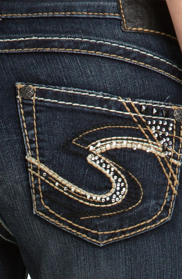 Alternate Image 3  - Silver Jeans Co. 'Tuesday' Bootcut Jeans (Juniors)