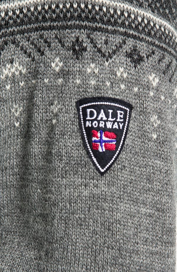 Alternate Image 4  - Dale of Norway 'Blyfjell' Quarter Zip Wool Sweater