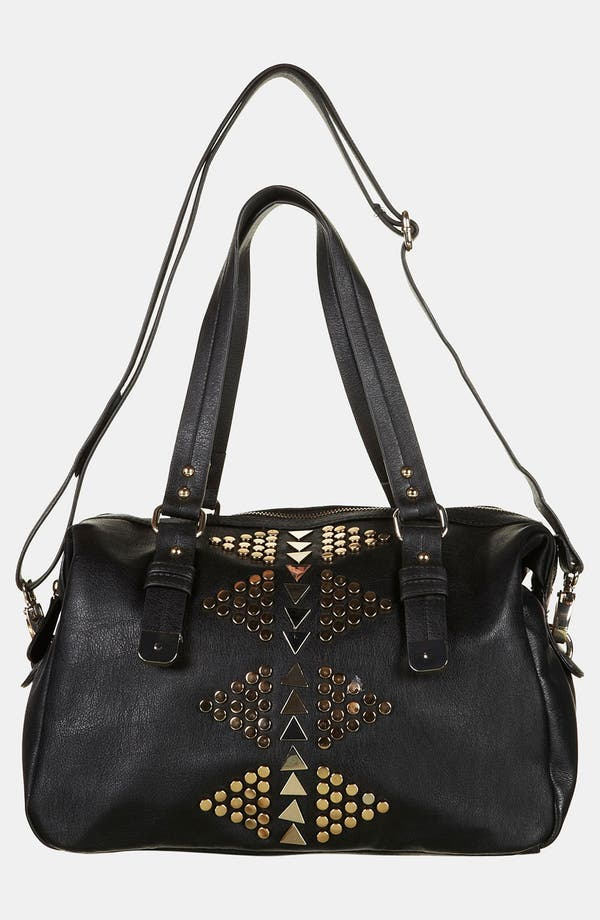 Alternate Image 2  - Topshop Geo Stud Satchel