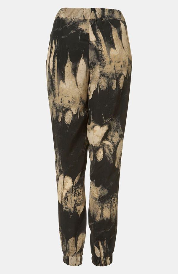 Alternate Image 2  - Topshop Print Tapered Pants