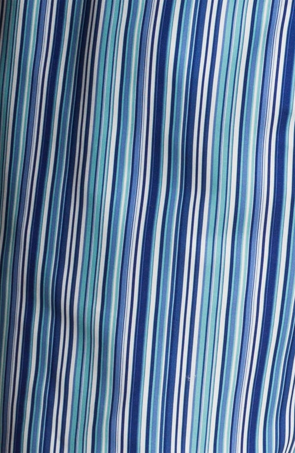 Alternate Image 3  - Bugatchi Uomo Stripe Board Shorts