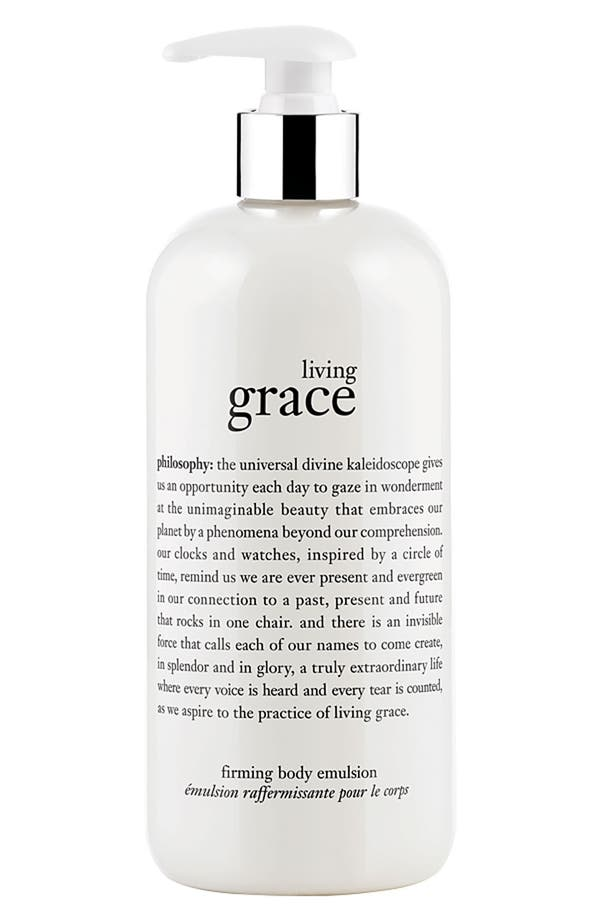 Alternate Image 1 Selected - philosophy 'living grace' firming body emulsion