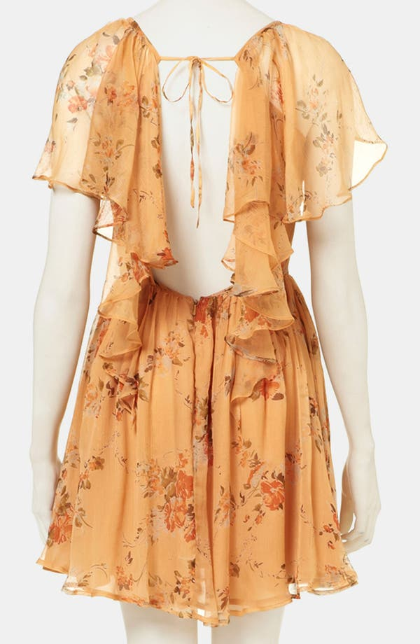 Alternate Image 2  - Topshop 'Autumn Meadow' Print Dress