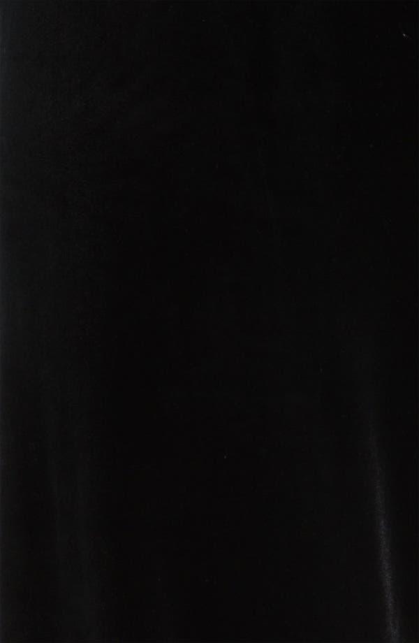 Alternate Image 3  - Alex Evenings Flat Front Velvet Pants
