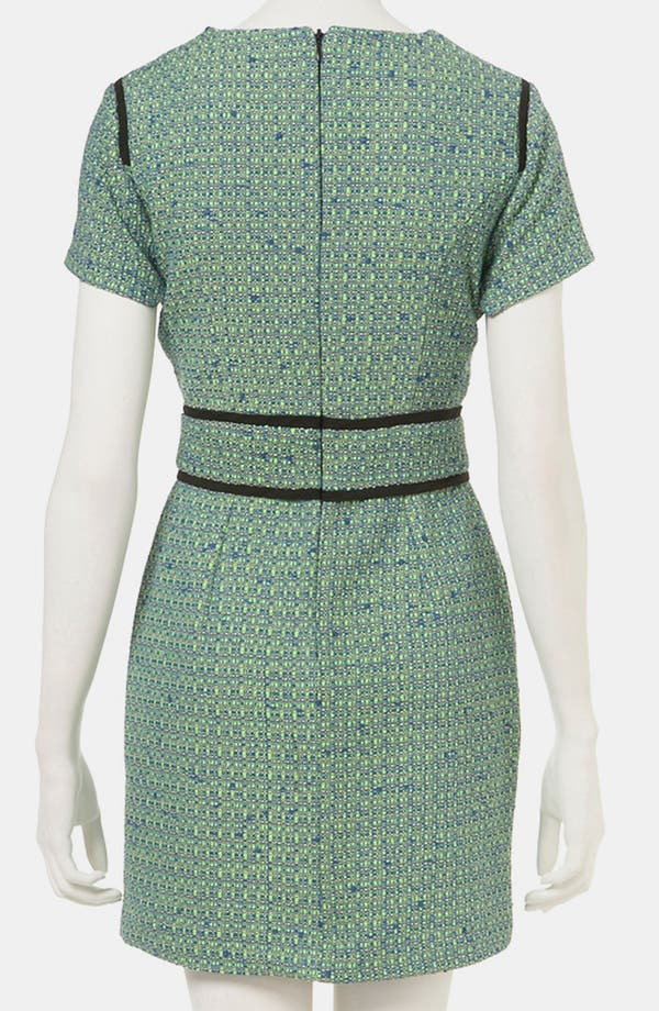 Alternate Image 2  - Topshop Bouclé Pencil Dress