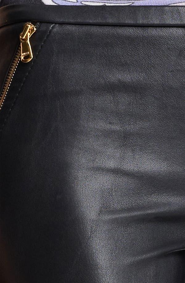 Alternate Image 3  - Emilio Pucci Lambskin Leather Leggings
