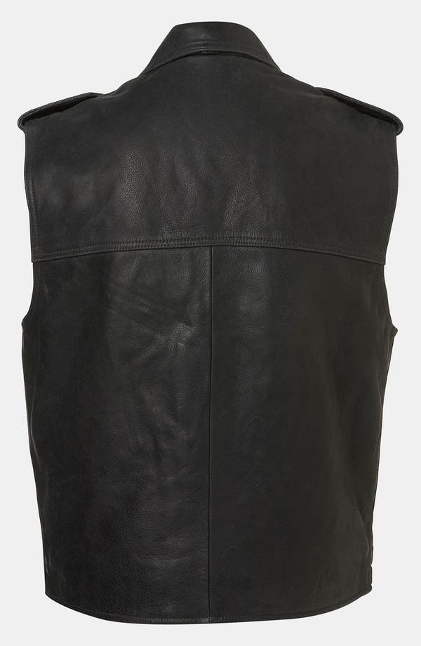 Alternate Image 2  - Topshop Boutique 'Sless' Biker Vest