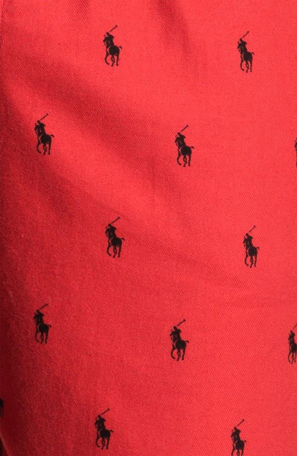 Alternate Image 3  - Polo Ralph Lauren Flannel Lounge Pants