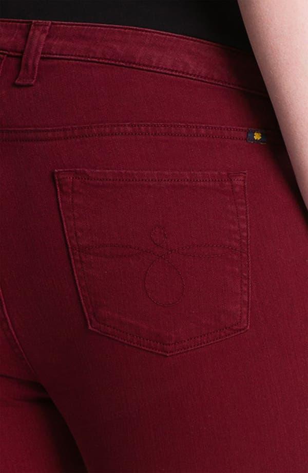 Alternate Image 3  - Lucky Brand 'Ginger' Skinny Jeans (Plus)
