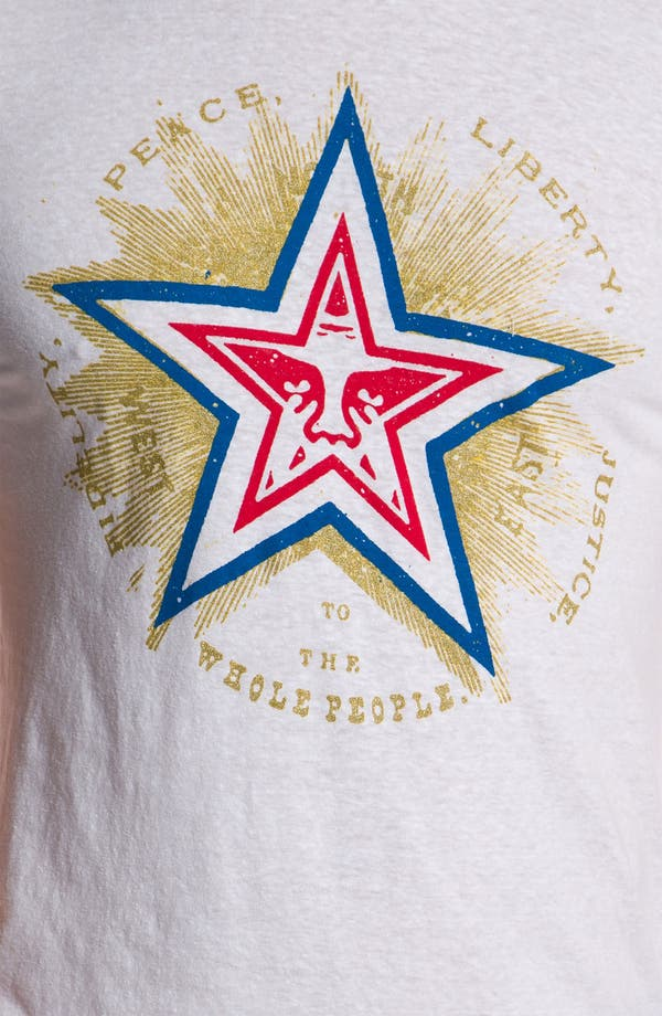 Alternate Image 3  - Obey 'Fidelity Star' T-Shirt