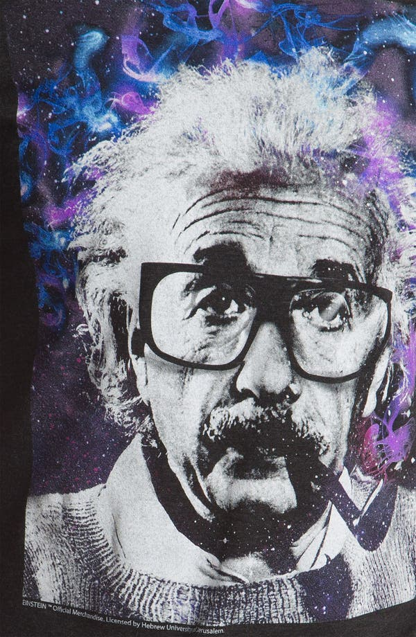 Alternate Image 3  - Free Authority 'Einstein' Graphic T-Shirt