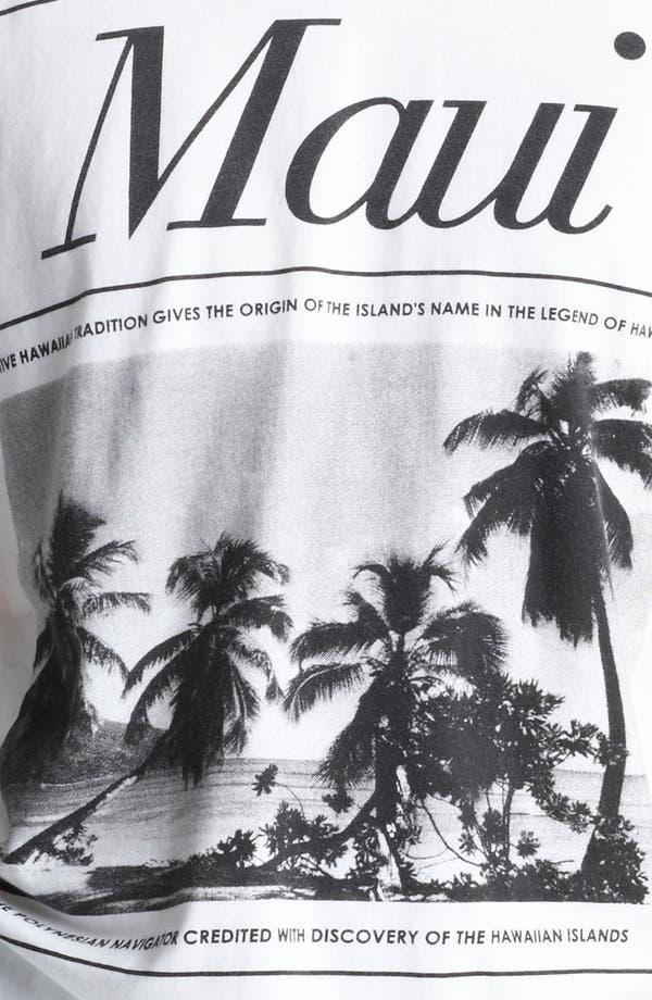 Alternate Image 3  - Topman 'Maui' Crewneck T-Shirt
