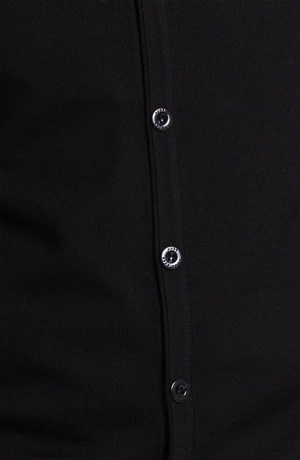 Alternate Image 3  - BOSS Black 'Baltimore' Wool Button Cardigan
