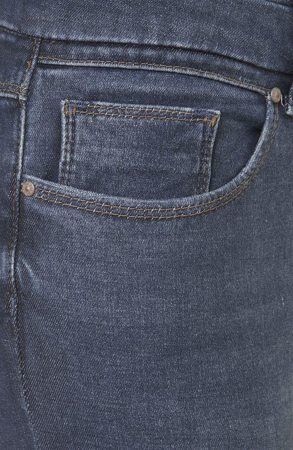 Alternate Image 3  - Topshop Moto 'Kristen' High Waist Skinny Jeans (Midstone)