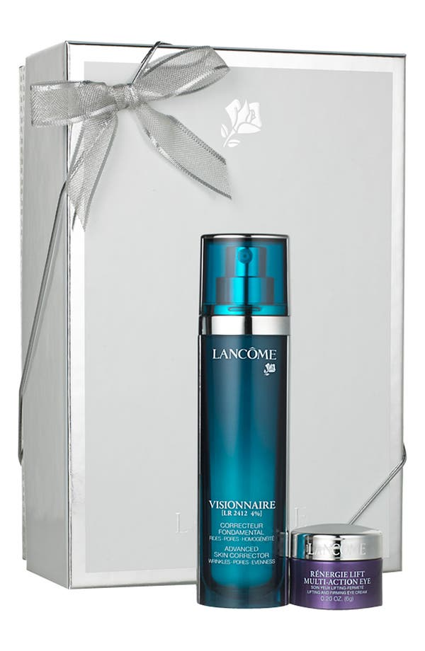 Alternate Image 1 Selected - Lancôme 'Visionnaire' Skincare Gift Set ($114 Value)
