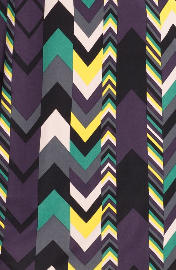 Alternate Image 4  - M Missoni Zigzag Print Reversible Dress